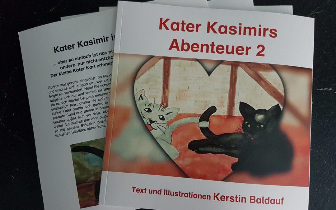 Kater Kasimir – Teil 2 ist da!
